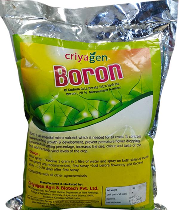 Boron (20% )